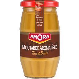 Moutarde aromatisée, fine et douce
