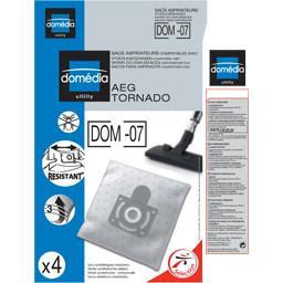 Sacs aspirateurs DOM-07 compatibles AEG, Tornado