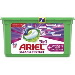 Protection complete des fibres 3en1 - lessive en capsules