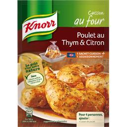 Assaisonnement Cuisson au Four poulet au thym & citr...
