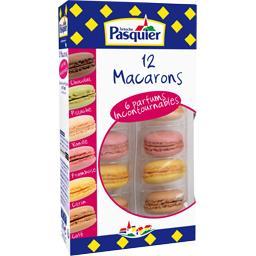 Macarons 6 parfums incontournables