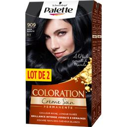 Palette - Coloration noir bleuté 909