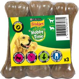 Purina Friskies - Os Original Hobby Time pour chiens le paquet de 3 - 270 g