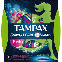 Compak - Tampons Pearl Active Fresh super