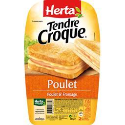 Tendre Croque - Croque-monsieur poulet fromage