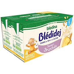 Blédidej - Céréales au lait de suite saveur briochée...