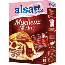 Préparation pour Moelleux marbré chocolat