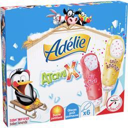 Adélie Glace Atomix goût guimauve au sucre pétillant les 6 glaces de 46 ml