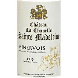 Minervois 2015, vin rouge