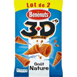3D Bugles - Biscuits apéritif goût nature