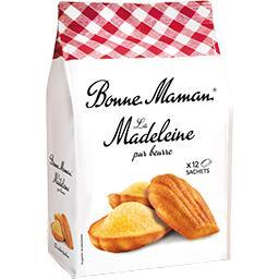 La Madeleine au beurre frais