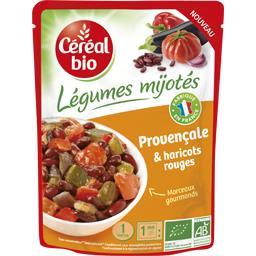 Légumes Mijotés - Provençale & haricots rouges BIO