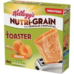 Nutri-Grain - Chausson à toaster abricot