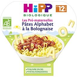 Les Pré-maternelles - Pâtes alphabet bolognaise, dès...