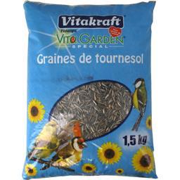 Vita Garden - Graines de tournesol pour oiseaux