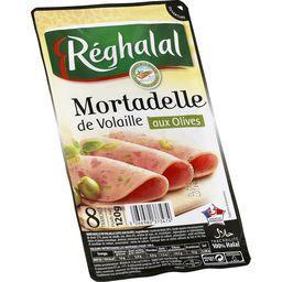 Mortadelle de volaille aux olives halal