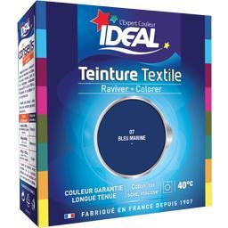 Teinture textile bleu marine 07 + le fixateur
