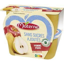 Sans Sucres Ajoutés - Purée pomme poire