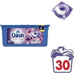 2 en 1 - Doses de lessive liquide Perles lavande & c...