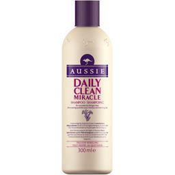 Aussie Shampooing Daily Clean Miracle cheveux normaux à gra... le flacon de 300 ml