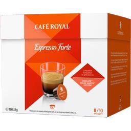 Capsules de café moulu Espresso Forte