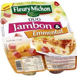 Duo jambon & emmental