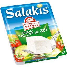 Fromage 100% brebis réduit en sel