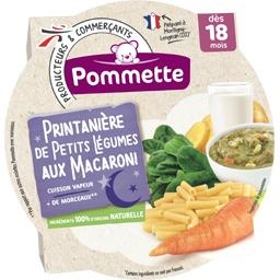 Printanière de petits légumes aux macaroni, dès 18 m...