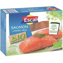Escal Pavés de saumon BIO la barquette de 2 - 250 g