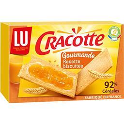 Cracotte - Tartine Gourmande recette biscuitée