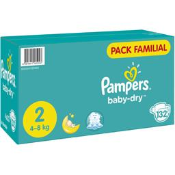 Pampers Couches-culottes Baby Dry, T2 : 4-8 kg