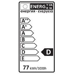 Ampoule STD halo 77W B22