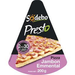 Presto - Pizza jambon emmental