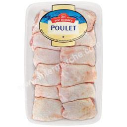 Hauts de cuisses de poulet blanc
