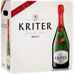Kriter Blanc de blancs brut, vin mousseux de qualité - Krit...
