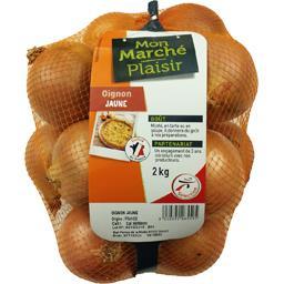 Mon Marché Plaisir Oignon jaune le filet de 2 kg