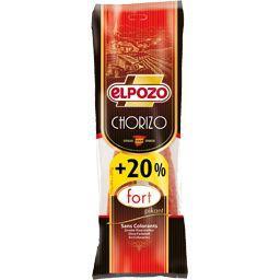 Elpozo Chorizo fort le paquet de 225