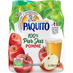 Jus de pomme 100% pur jus sans sucres ajoutés