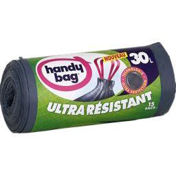 Sacs poubelle ultra résistants 30 l