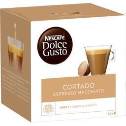 Dolce Gusto - Capsules de café Cortado Espresso Macc...