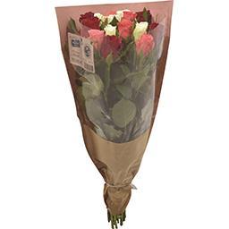 Rose 15 tiges arlequin