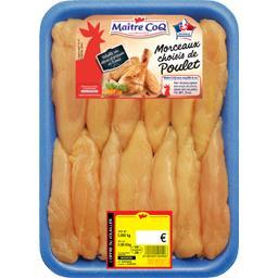 Aiguillettes de poulet jaune
