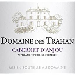 Cabernet d'Anjou Domaine des Trahan vin Rosé 2017