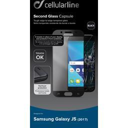 Protection verre trempé bord à bord noirs Samsung Galaxy J5