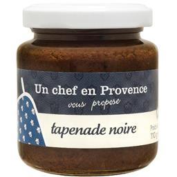 Un Chef en Provence Tapenade noire le pot de 110 g