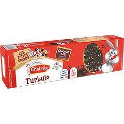 Biscuits Turbulo chocolat noir