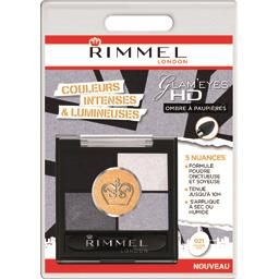 Rimmel London Glam'Eyes HD - Ombre à paupières 021 Golden Eye la boite de 3,8 g