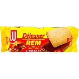 Biscuits Déjeuner REM chocolat
