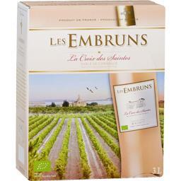 Embruns BIB, Sables de Camargue, vin rosé, 2016