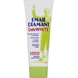 Code White - Dentifrice blancheur & protection, arôme menthe